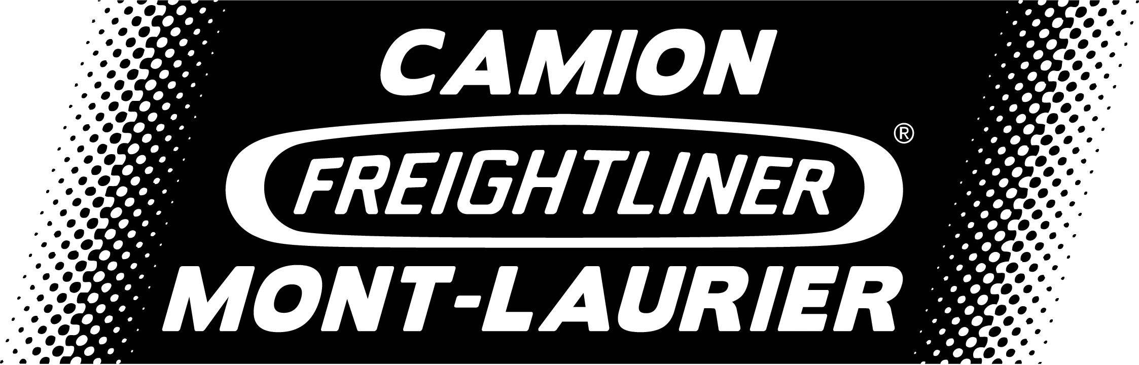 Logo Camion Freightliner Mont-Laurier NB